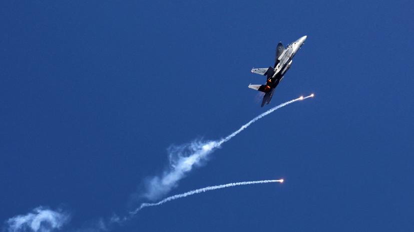 В ЦПВС сообщили об авиаударе ВВС Израиля по Сирии