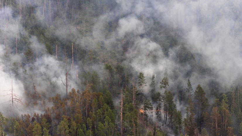 Искусственный дождь вызвал тушение пожаров в Якутии