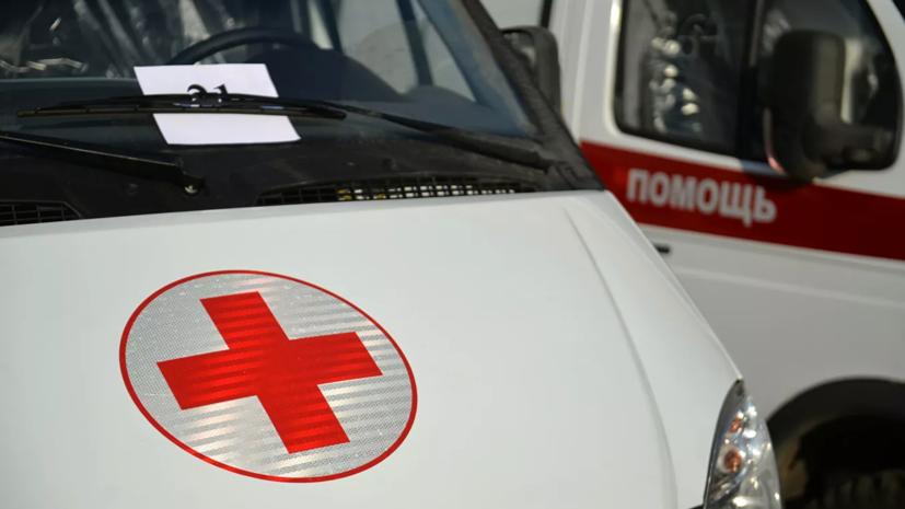 В ДТП с маршруткой и грузовиком под Ростовом пострадали семь человек