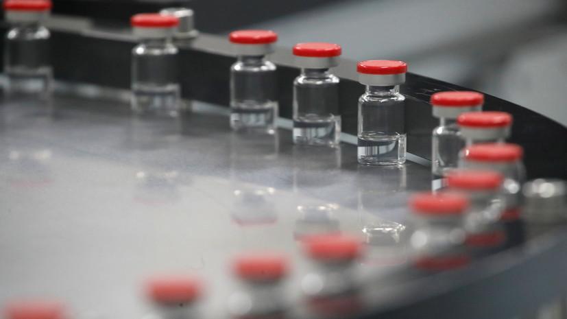 В Кремле прокомментировали ситуацию с производством вакцин от коронавируса