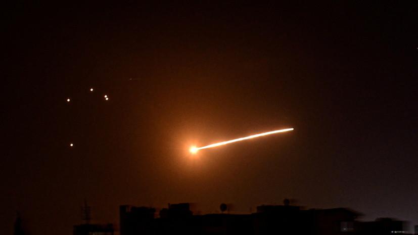 SANA: сирийские средства ПВО отражают воздушную атаку
