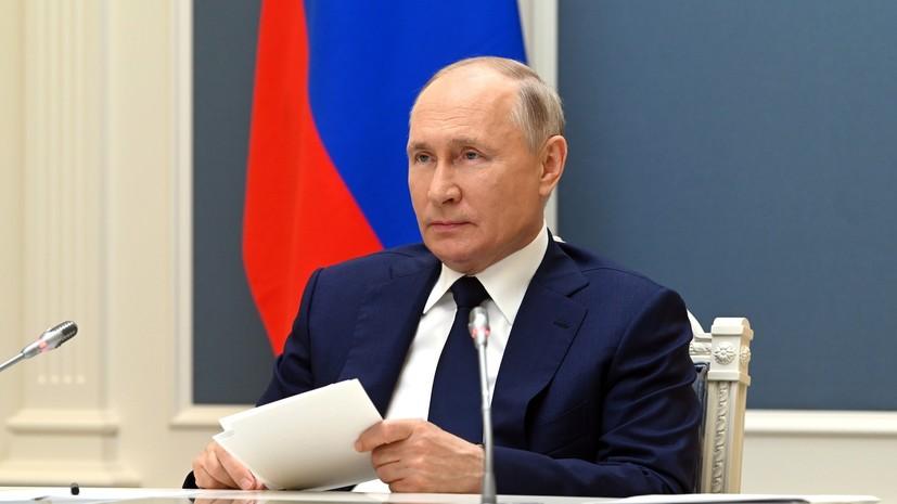 Путин назвал дискриминационным закон о коренных народах Украины