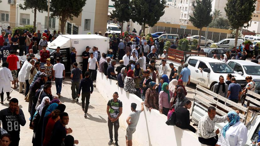 В Тунисе утонули 17 мигрантов
