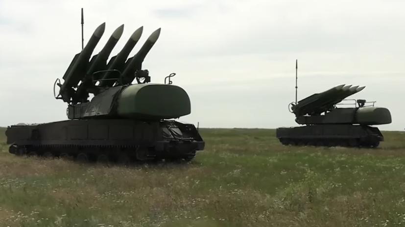 Украинские военные провели учения «Буков» у границ с Крымом