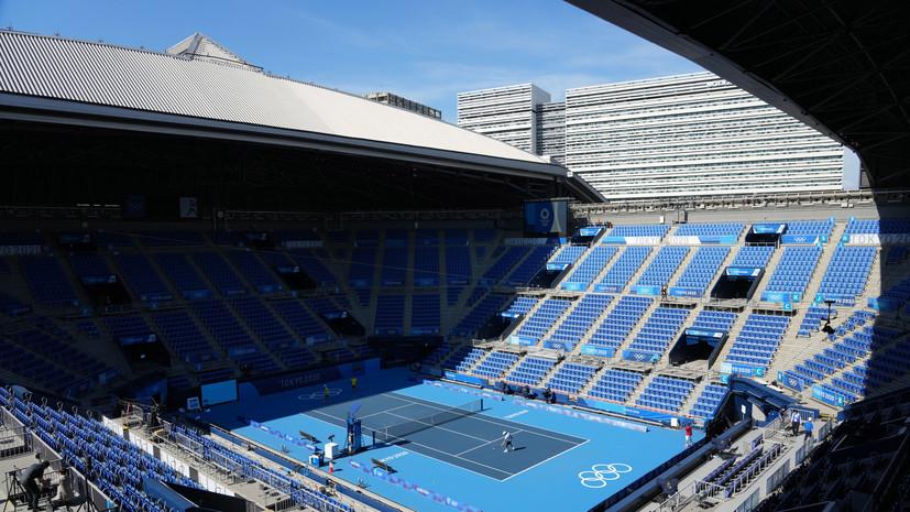 Стали известны соперники российских теннисистов по первому кругу парного олимпийского турнира