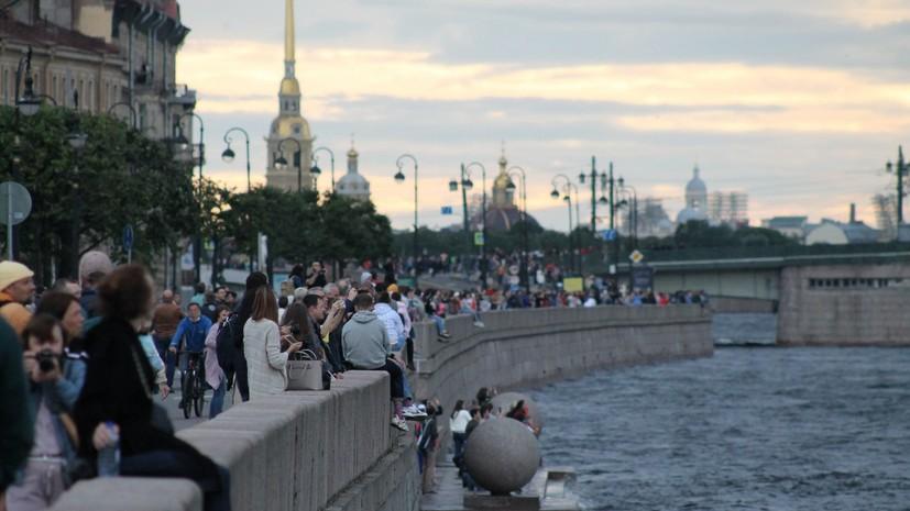 В Петербурге ожидаются дожди и грозы 22 июля