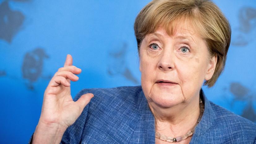 Меркель заявила о возможности новых ограничений в ФРГ из-за COVID-19