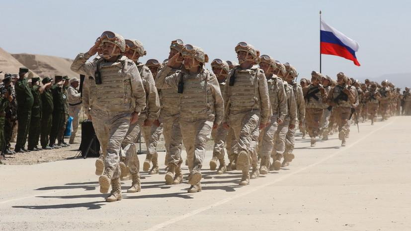 «Хватит сил и средств»: как Россия намерена реагировать в случае дестабилизации на афгано-таджикской границе