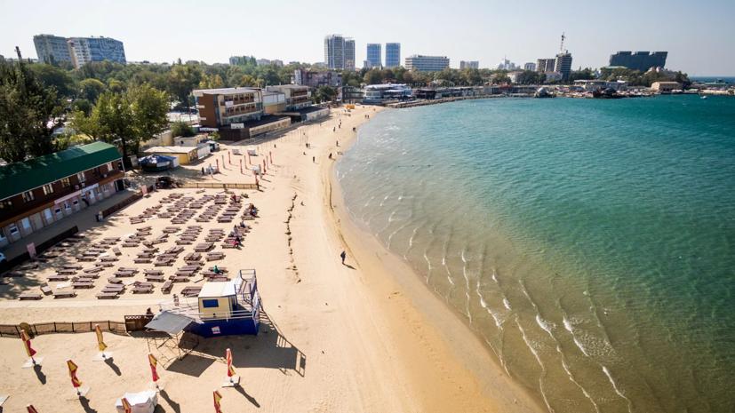 В Анапе посетителям пляжей запретили купаться из-за шторма