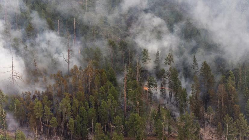 В Минобороны рассказали о тушении природных пожаров в Якутии