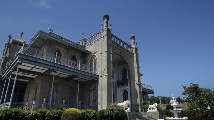 В Крыму рассказали о ходе реставрации Воронцовского дворца