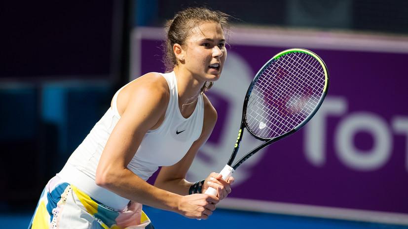 Вихлянцева проиграла Шарме во втором раунде турнира WTA в Палермо