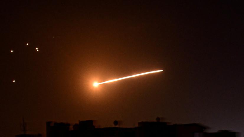 ЦПВС: сирийские «Буки» сбили запущенные израильскими истребителями ракеты
