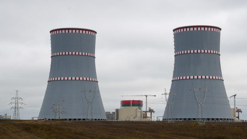 Первый энергоблок БелАЭС планируется включить в сеть в середине августа