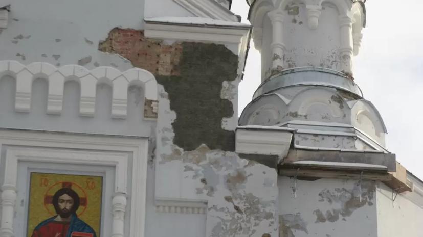 На реставрацию Владимирского собора в Кронштадте выделили более 35 млн рублей