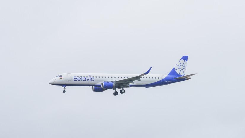 Россия с 1 августа увеличит число рейсов в Белоруссию