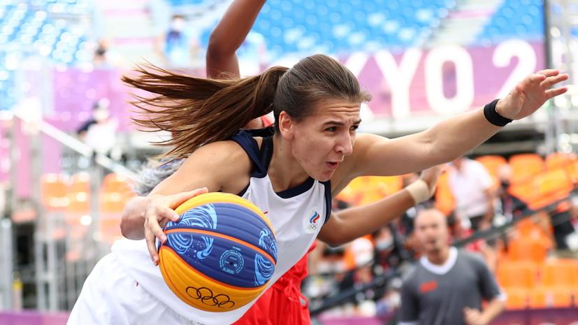 Российские баскетболисты выиграли первый матч на Олимпиаде в Токио