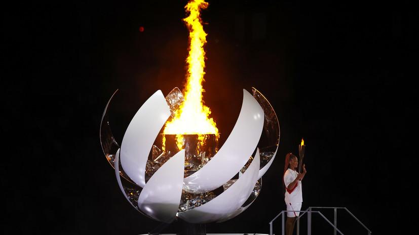 Осака высказалась о зажигании олимпийского огня