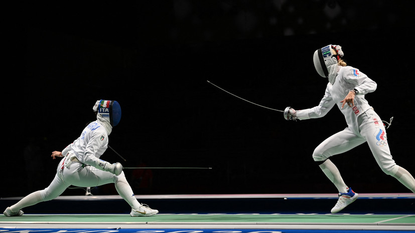 Фехтовальщица Личагина не смогла выйти в 1/8 финала соревнований по шпаге на ОИ в Токио