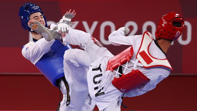 Артамонов уступил в 1/8 финала турнира по тхэквондо на ОИ в Токио