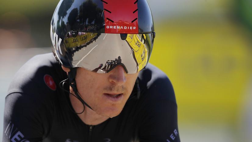 Победитель «Тур де Франс» Томас упал во время групповой гонки на ОИ в Токио