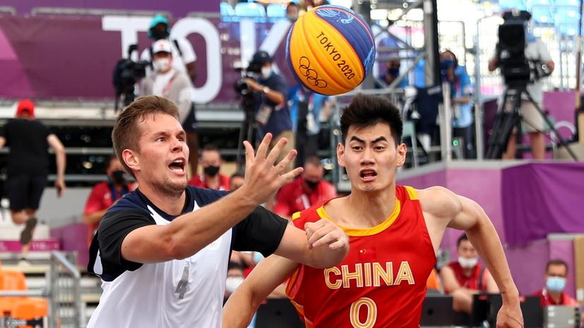 Российские баскетболисты стартовали с победы на Олимпиаде в Токио