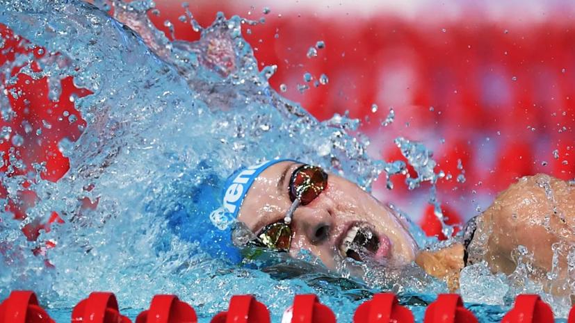 Андрусенко вошла в состав сборной России на квалификацию кролевой эстафеты на ОИ в Токио