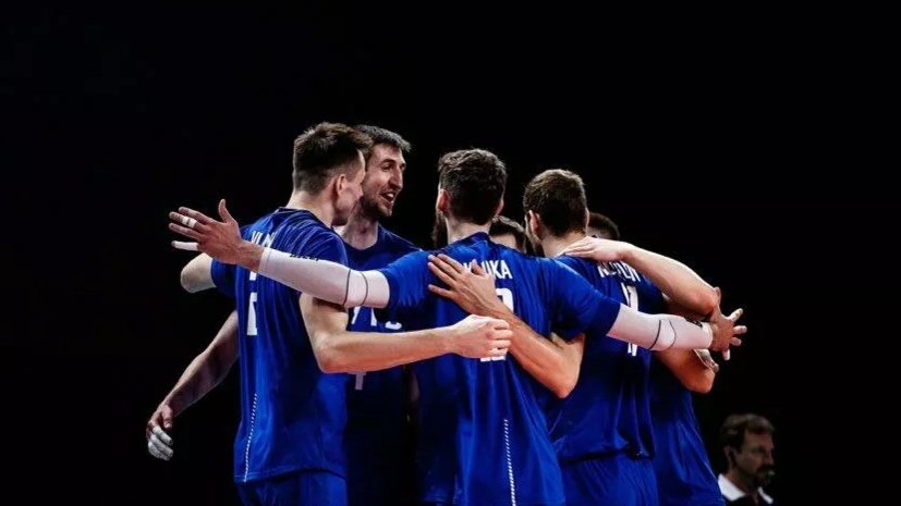 Сборная России по волейболу обыграла Аргентину на старте ОИ в Токио