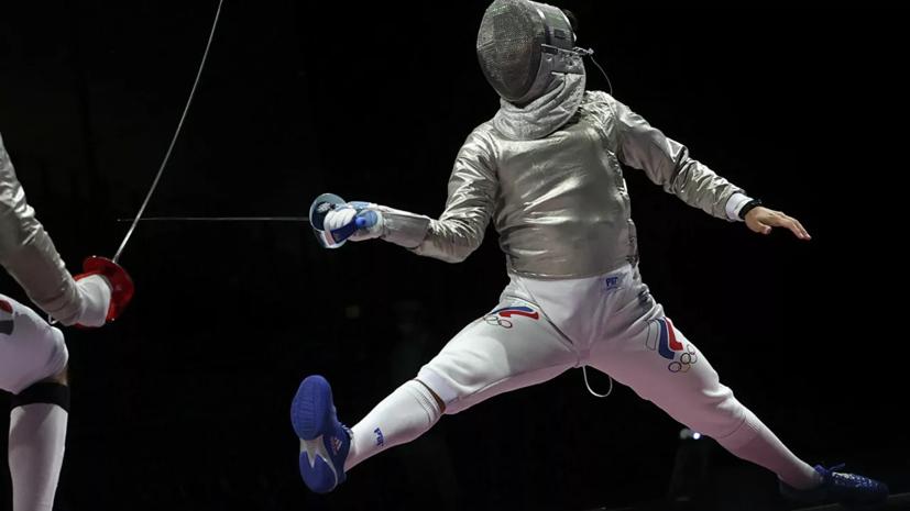 Саблист Ибрагимов проиграл в четвертьфинале Олимпиады в Токио