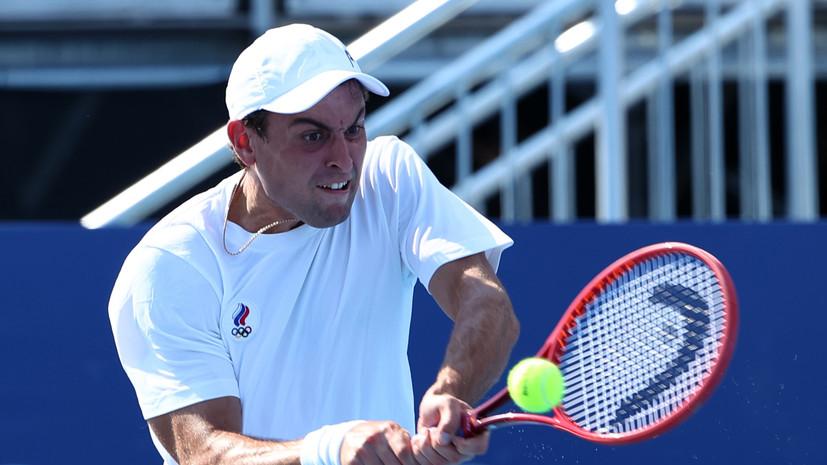 Теннисист Карацевназвал своей мечтой завоевание медали наОлимпиаде
