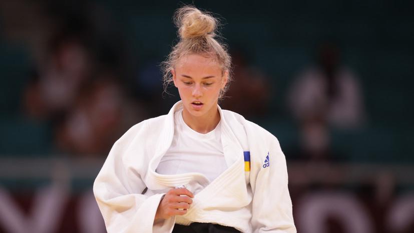Дзюдоистка Белодед принесла Украине первую медаль на ОИ в Токио