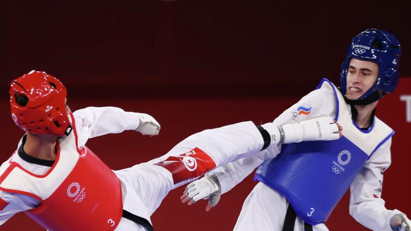 Артамонов завоевал бронзу в тхэквондо на Олимпиаде в Токио