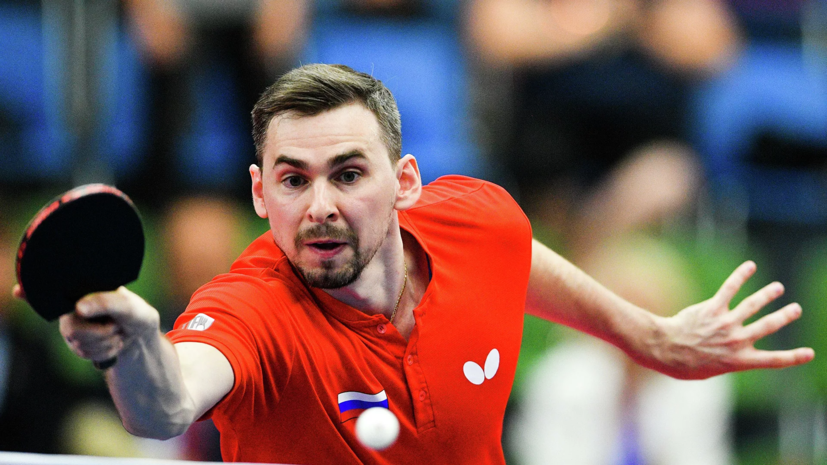 Скачков обыграл Леваяца на старте олимпийского турнира по настольному теннису