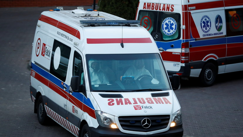 В ДТП с микроавтобусом в Польше пострадали семь граждан Украины