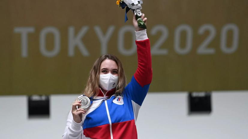 Сборная России занимает 11-е место после первого дня на Играх в Токио