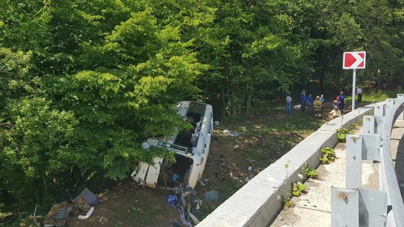 В МВД сообщили о возбуждении дела после ДТП с автобусом в Краснодарском крае