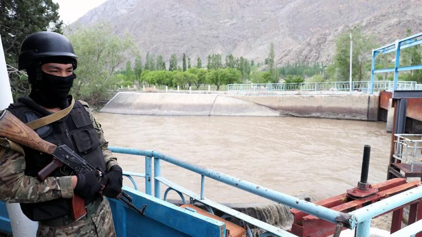 В Киргизии сообщили о стабилизации ситуации на границе с Таджикистаном