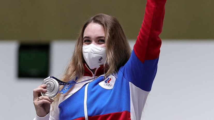 Стрелок Галашина рассказала, как в команде отреагировали на её олимпийское серебро