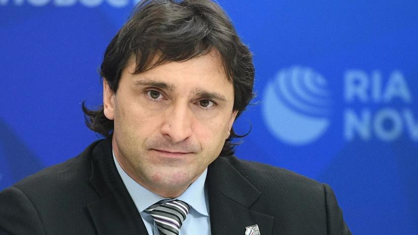 Матыцин прокомментировал восстановление аккредитации Агапитова на ОИ по решению CAS