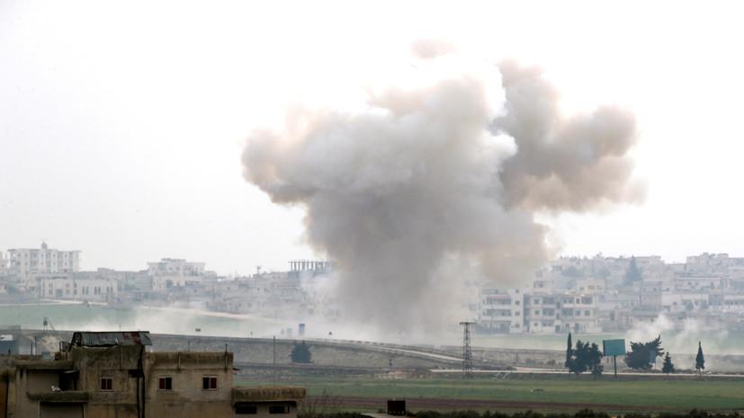 Террористы совершили 32 обстрела в идлибской зоне деэскалации в Сирии