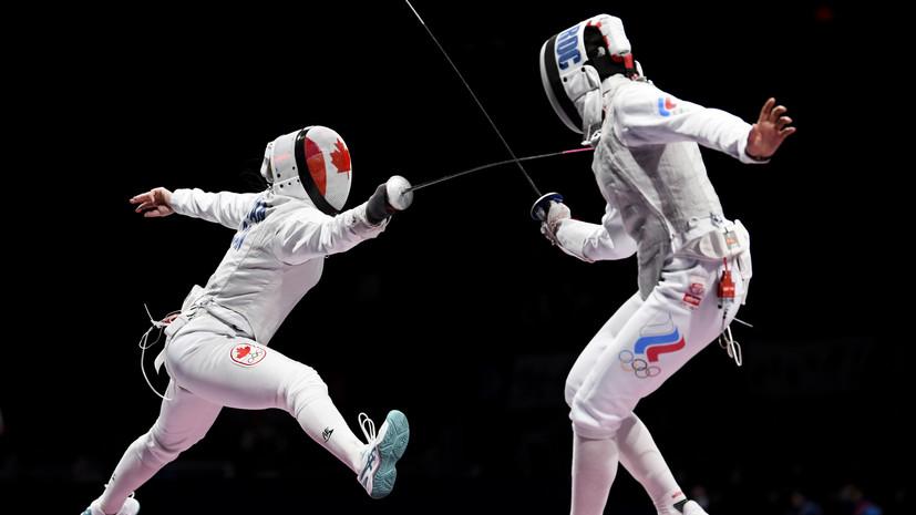 Рапиристка Загидуллина не смогла выйти в 1/4 финала олимпийского турнира по фехтованию