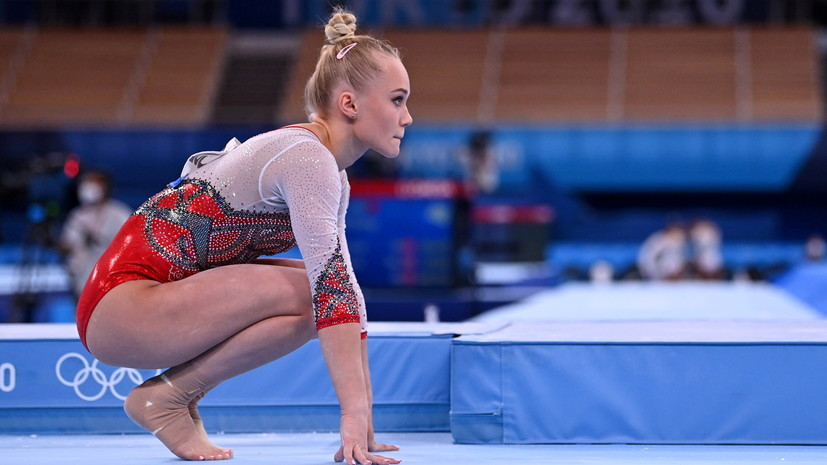 Гимнастке Мельниковой пришлось сменить музыку для вольных упражнений на ОИ из-за авторских прав