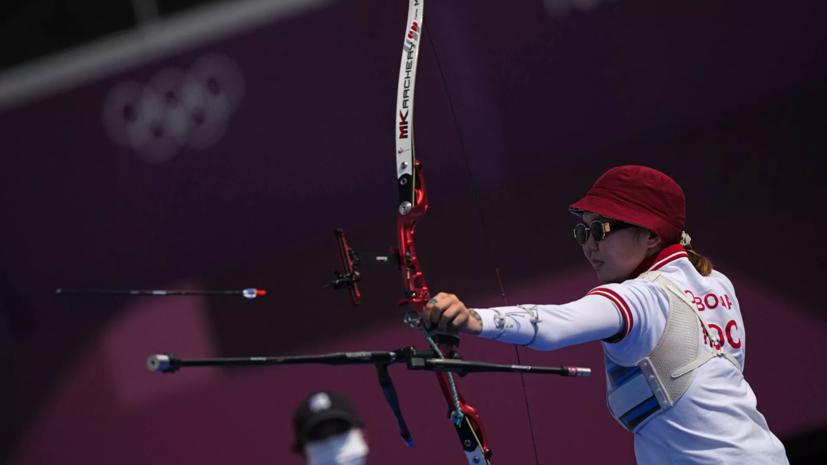 Российские лучницы завоевали серебро в командном турнире ОИ в Токио
