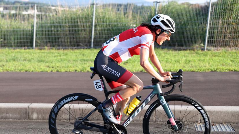 Кизенхофер стала олимпийской чемпионкой по шоссейному велоспорту