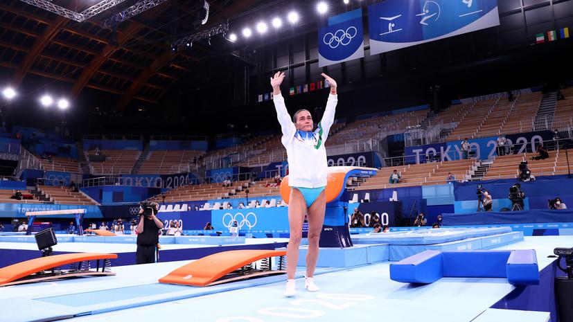Гимнастка Чусовитина завершила карьеру на Играх в Токио