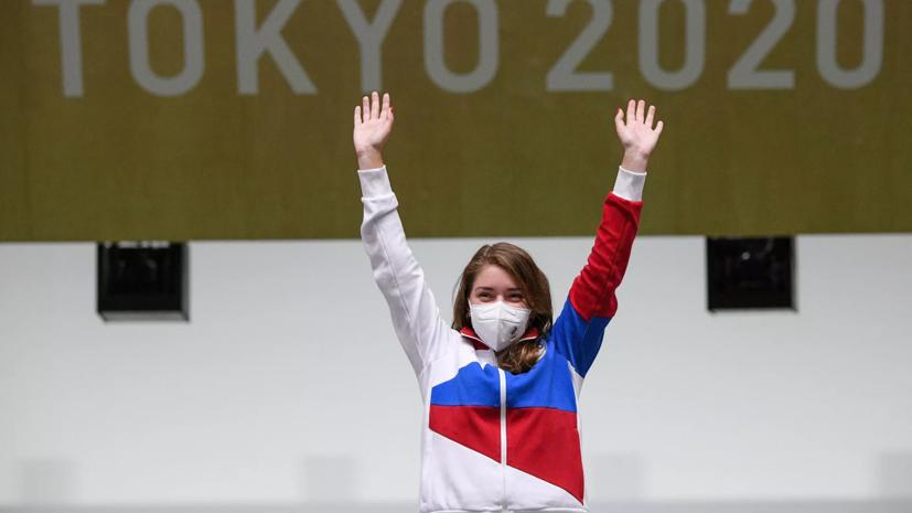 Песковотреагировал на первое золото россиян на Олимпиаде