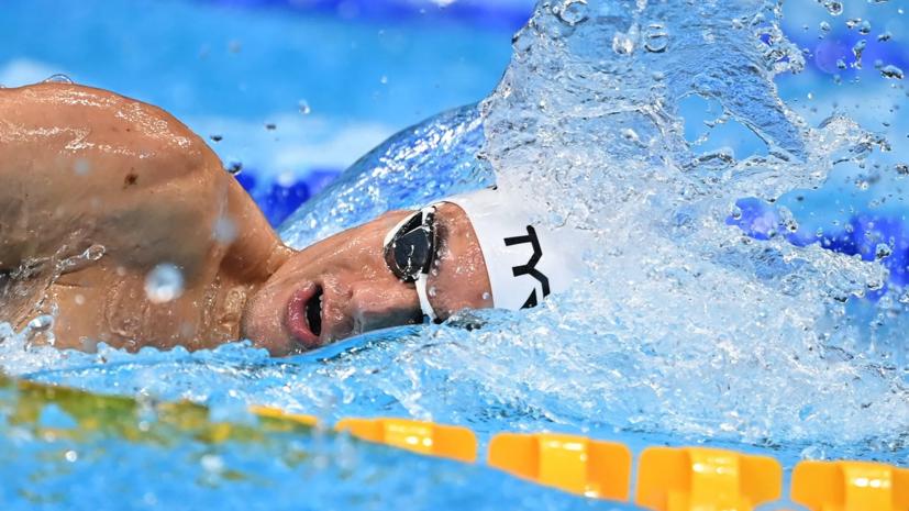 Пловец Малютин вышел в полуфинал ОИ на дистанции 200 м вольным стилем