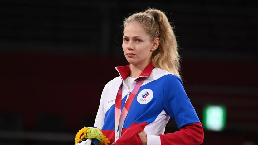 Завоевавшая серебро тхэквондистка Минина рассказала о переломе ноги перед ОИ