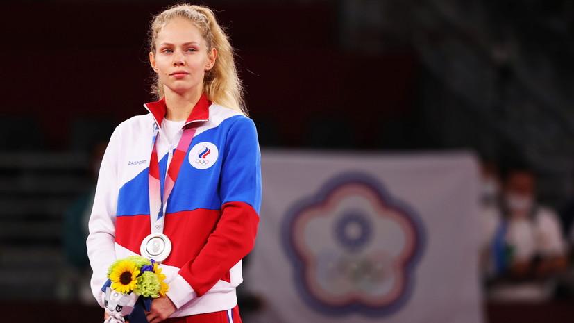 Тхэквондистка Минина прокомментировала завоевание серебра на Олимпиаде