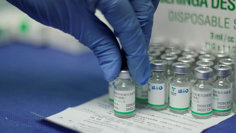 Минск планирует закупить у КНР около 1 млн доз вакцины от COVID-19